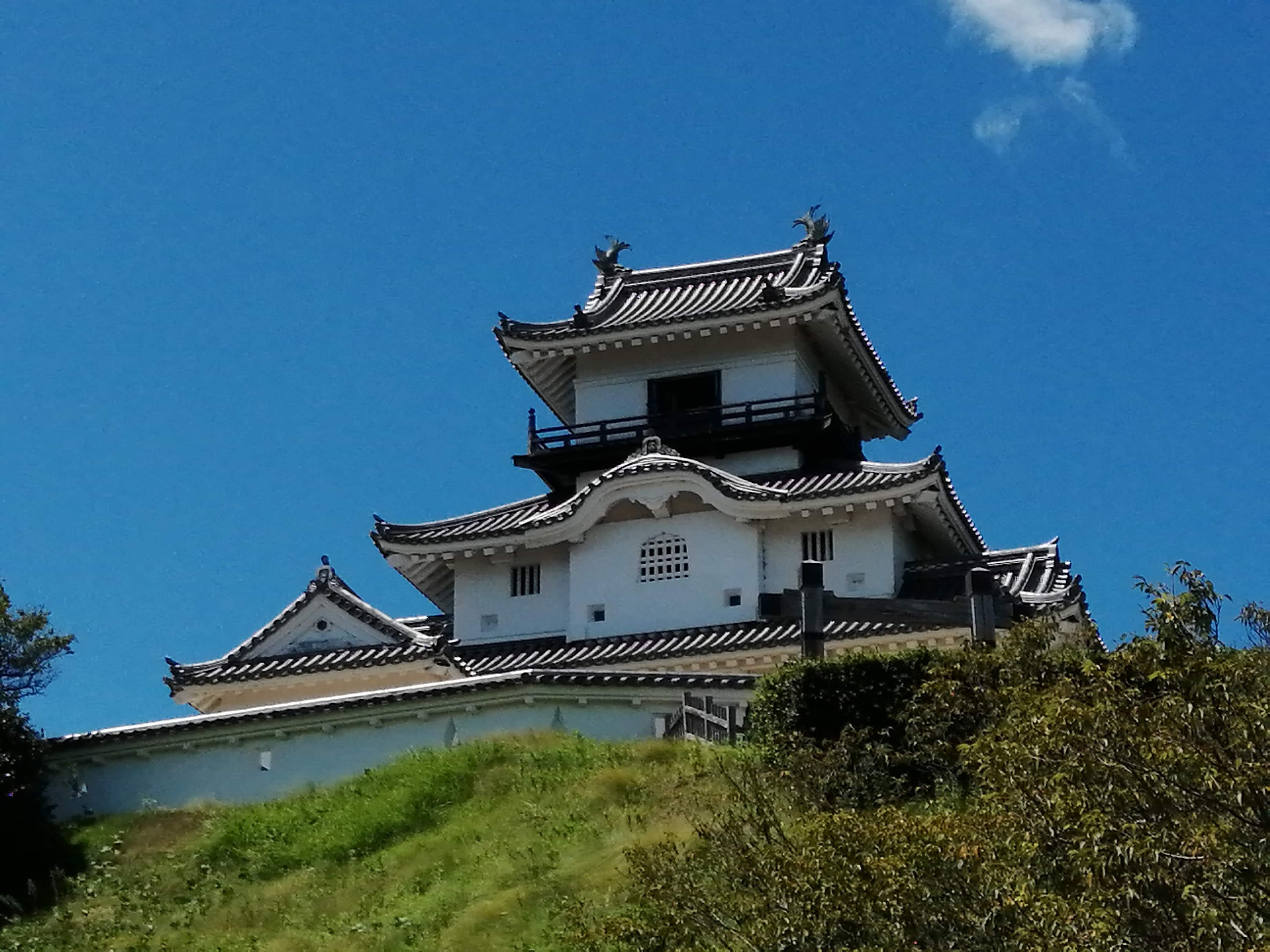 聖地巡礼の旅 ー掛川城・掛川ステンドグラス美術館 編ー